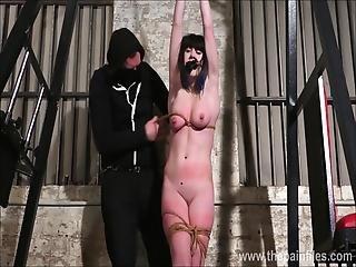 amateur, bdsm, drecksstück, sklaverei, brünette, brutal, weinen, daheim, selbstgemacht, erniedrigung, sexy, bestraft, sklave, festgebunden