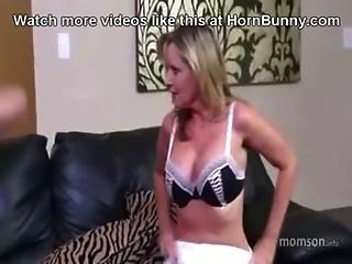 Mom And Son Play Strip Poker Mom Gets Pregnant - Hornbunny.com