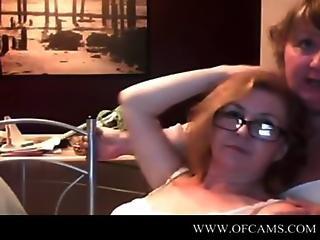 2 Horny Cock Craving Milfs Get Horny Together On Webcam Amatuers Aumento Forwom