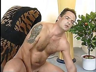 Hairy German Redhead Milf Fucking