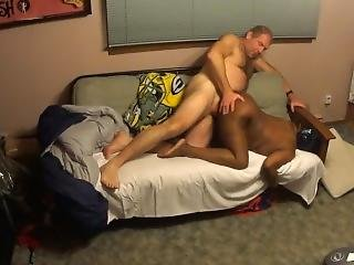 Hot Interracial Couple - Late Night Sex...at It Again!