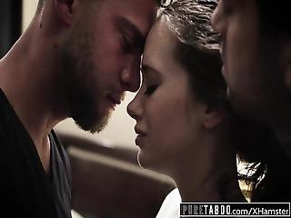 Pure Taboo Gia Paige S First Dp With 2 Step Brothers