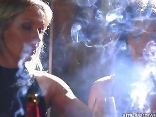 4 Spanish Girls Smoking