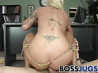 Busty Brooke Gets Fucked At Work