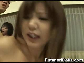 Futanari Teens Group Sex