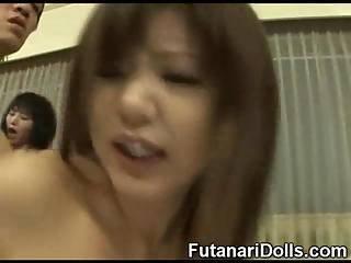 Futanari Teens Group Sex