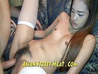 Silky Pubic Hair And Sweet Thai Pink Box