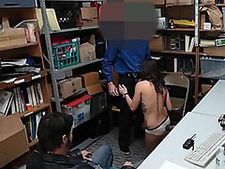 Lustful Officer Gets To Fuck The Arrested Suspect