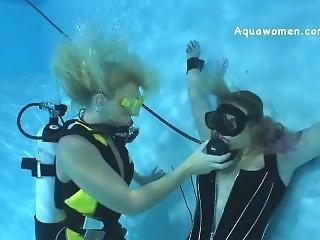 Underwater Scuba Bondage Breathplay