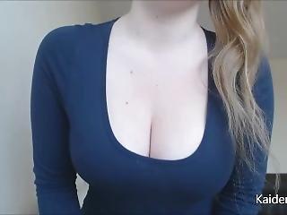 Blonde Tit Smothering Executrix