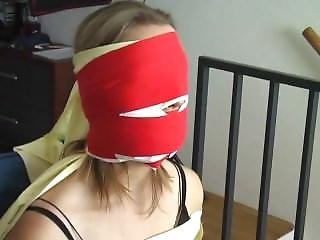 Female German Burgler Chairtied Part 2