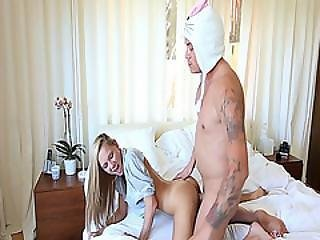 Bunny Keeps On Humping Holly Macks Pussy From Behind