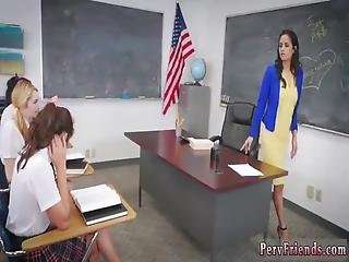Russian Forest Orgy After School Detention