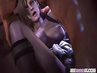 Hot And Horny Big Ass And Big Tits Game Heroes Enjoy Doggystyle Sex And Tight Pussy Hammering In Compilation With Cumshots
