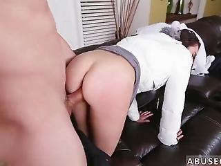 Extreme Creampie First Time Babysitters Enjoy Rock-hard Cock