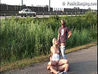 Group Sex In Public Part 1
