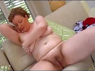 Hairy Mature From Look4milf.com Romana On Sofa