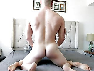 Skinny Blonde Gets Fucked By Irish Muscle Jock