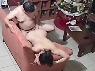 Hidden Spycam Caught Pregnant Millf Having Good Sex With The Neighbor