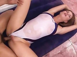White Swimsuit Fucking Uncensored