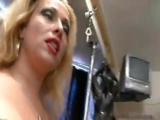 2 Mistresses Punish Slave