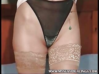 My Sexy Piercings Busy Pierced Milf Pussy And Nipples