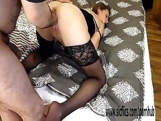 Brutally Fisting His Gfs Wrecked Pussy In Bondage