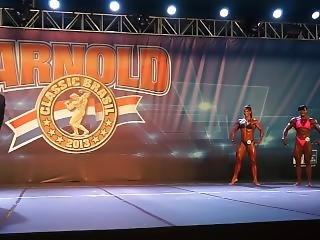 Arnold Classic Brazil - Female Bodybuilders Contest Part I