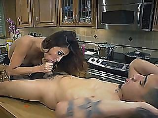 Girl With Small Tits Banged On Table