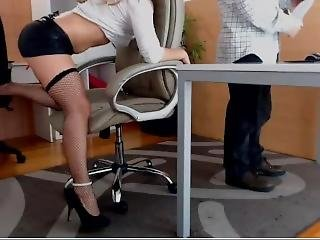 Horny In Office Webcam