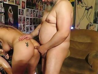 Sexy White Bikini With Dinni Gata