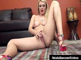 Blonde Beauty Natalia Starr Squats On Her Sybian And Orgasms