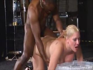 Rough Interracial Hardcore Sex Domination Of Busty Melanie Moon In Pussy Punishment Bdsm