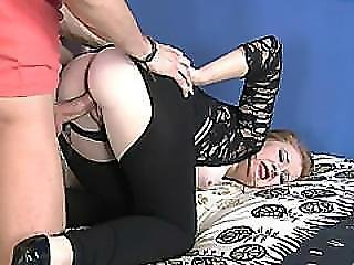 Allison Grady Fucked Very Roughly By A Massive Cocked Stud By A Stepbrother!
