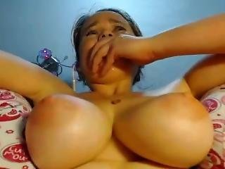 amateur, gros téton, masturbation, jet de mouille, Ados