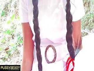 Sri Lankan School Girl