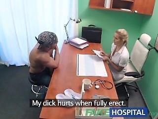 Fakehospital Hot Wet Pussy Solves Penis Problem