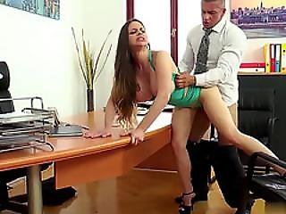 Fucking With Boss Is The Best For Career Step Up