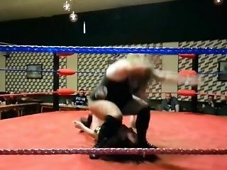 Women Wrestling Butt Drops, Banzai, Ryona, Bbw Crushing Skinny Girls Part 5