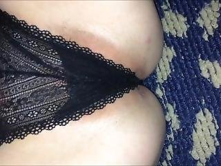 Cumpilation Of Me Fucking My Wife With Her Panties On