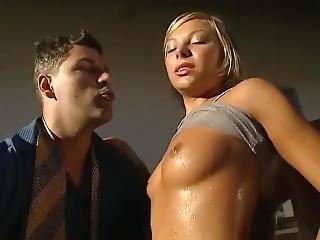 anal, blondine, doppelte penetration, harter porno, eindringen