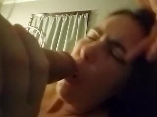 Wife Sucks Gardeners Cock While Husband Is At Work