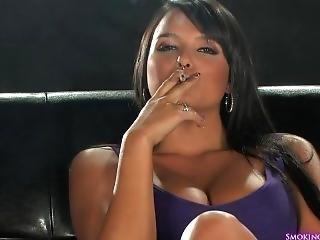 Sasha Cane Smoking