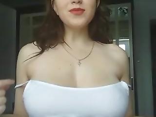 Tette Grandi, Russa, Adolescente, Webcam