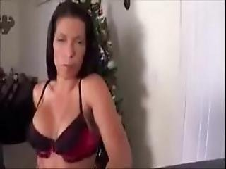 Mom Wants Creampie For Christmas - Alexis Rain