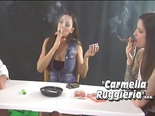 Smoking Cigar Playing Cards
