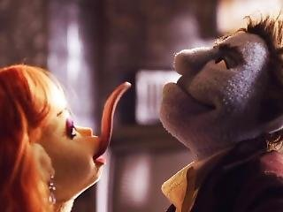 Horny Muppets Fuck Like Rabbits In The Office Funny Sex Scene