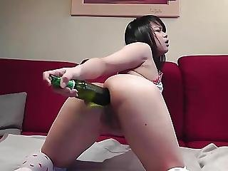 Asian, Ass, Beer