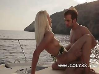 Luxury Art Intercourse On The Yacht