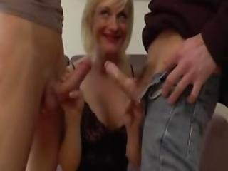 Angela 42 Years Old Dped In Stockings